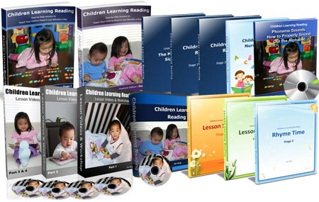 Children learning reading program - premium package