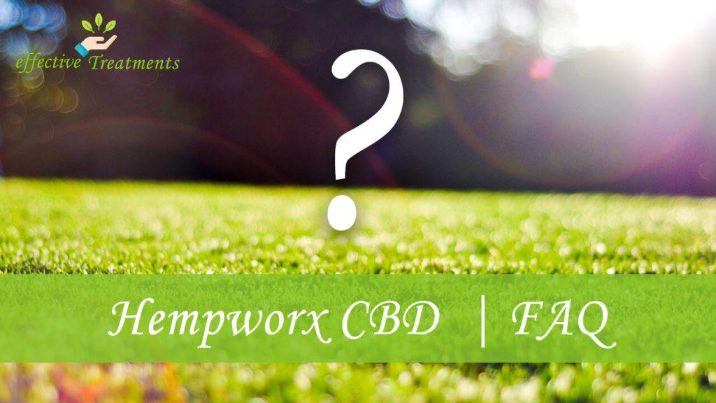 Hempworx CBD FAQ