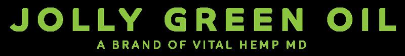 JGO logo | Jolly green oil CBD