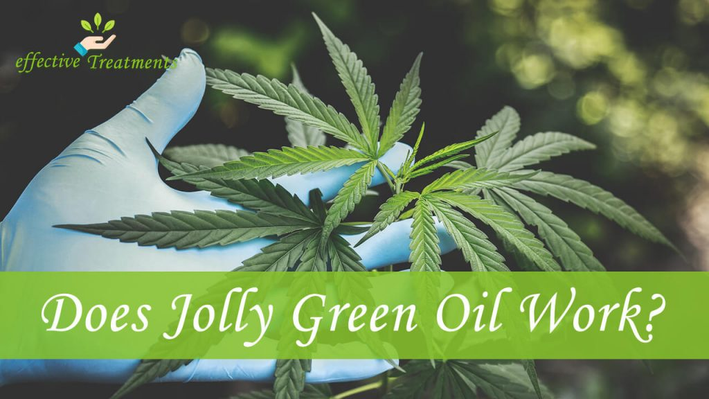 Does jolly green oil CBD work?