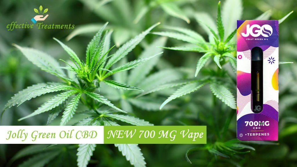 Jolly green oil 700mg Vape | JGO NEW 700 MG Vape Cartridge