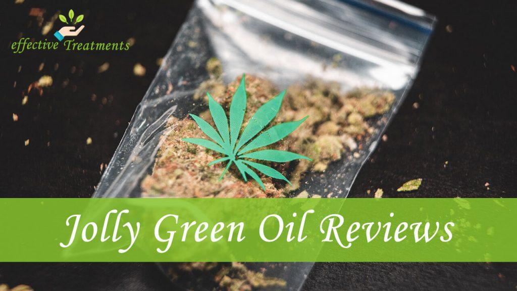 Jolly green oil CBD reviews