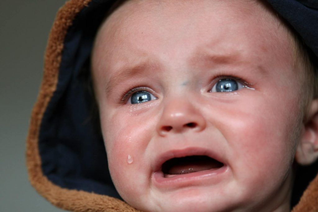 Stop a crying baby