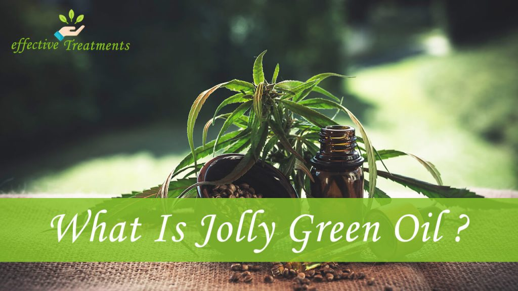 What is jolly green oil CBD