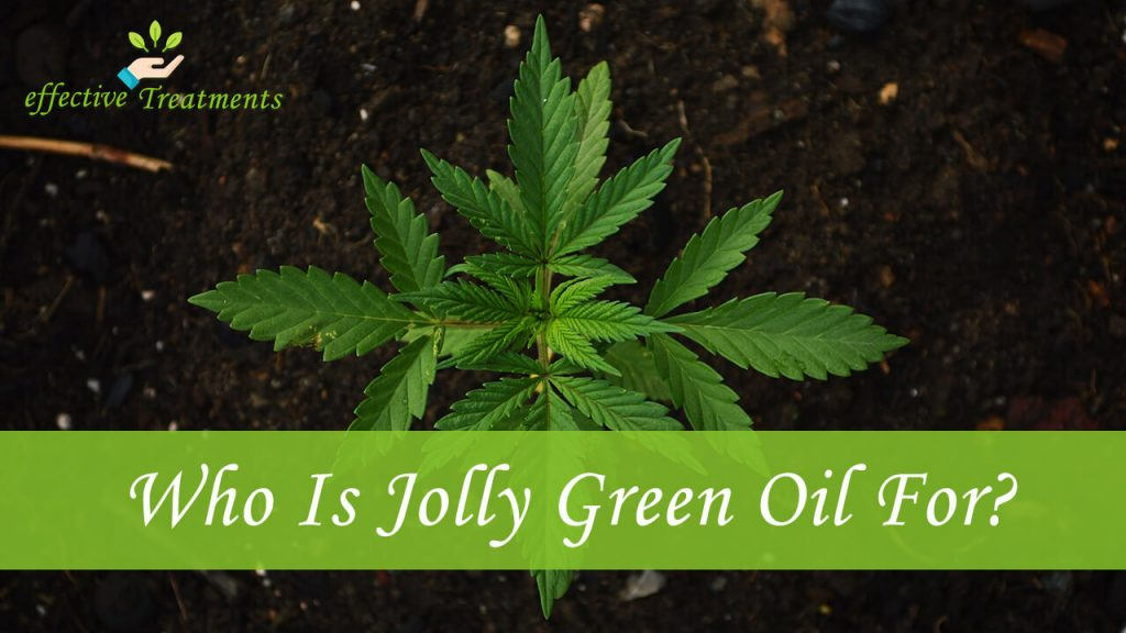 who is jolly green oil CBD for