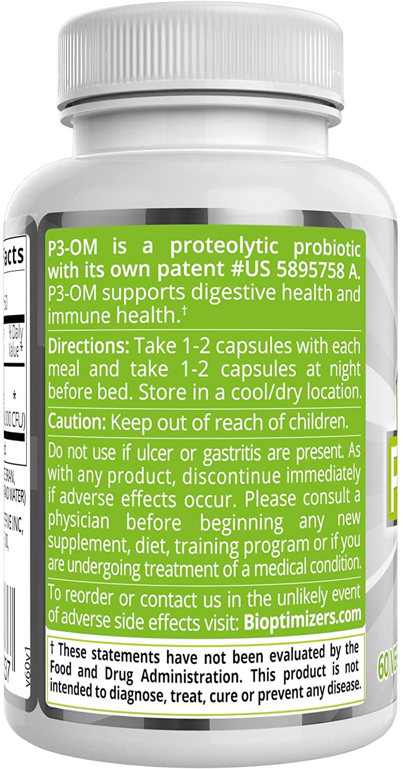 P3-OM probiotic | How to use