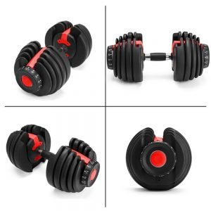 Adjustable Dumbells for exercising