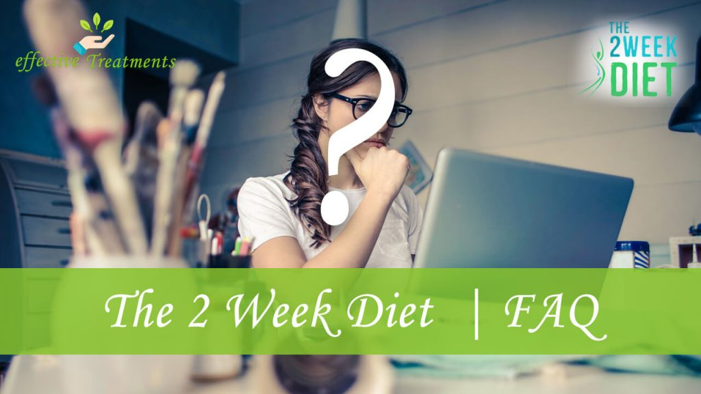 The 2 week diet faq