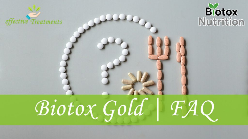 Biotox Gold solution faq