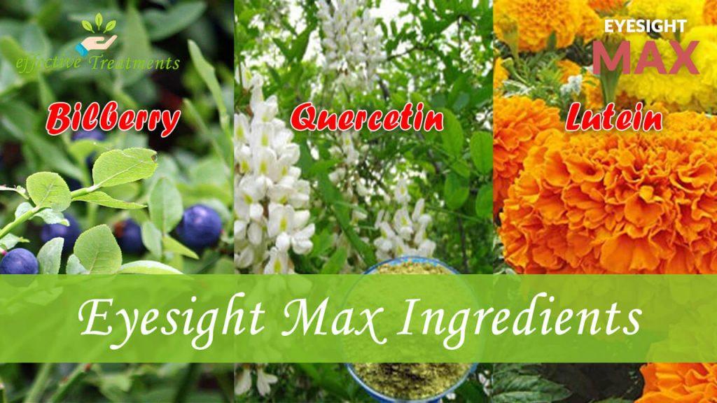 Eyesight Max ingredients