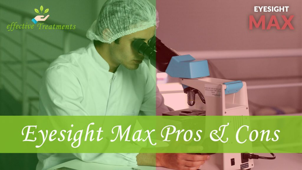 Eyesight Max pros and cons
