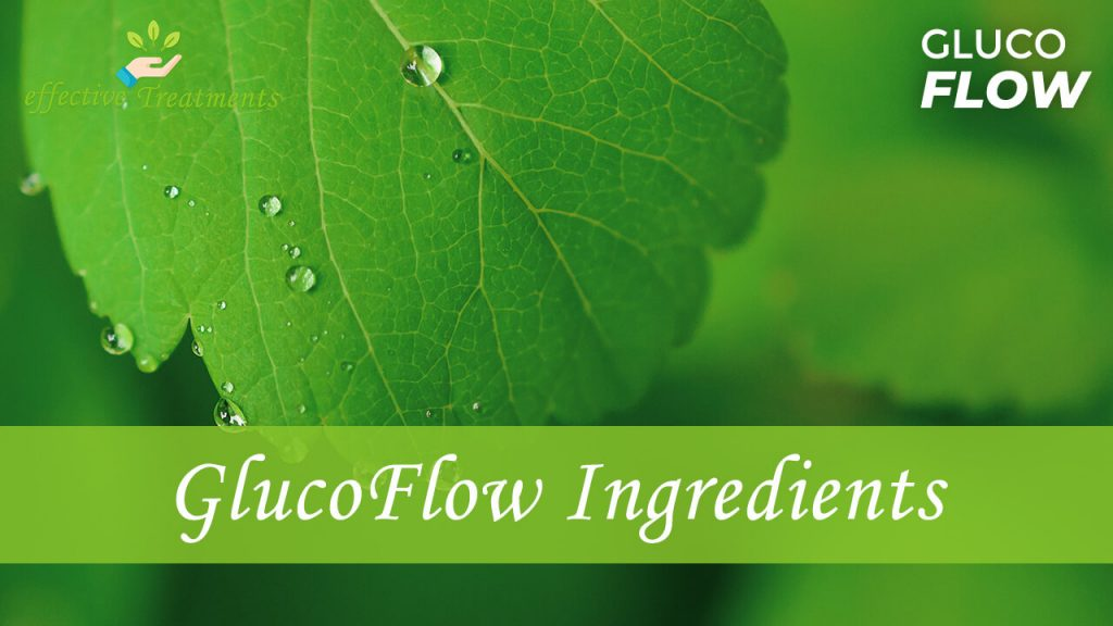 Glucoflow ingredients