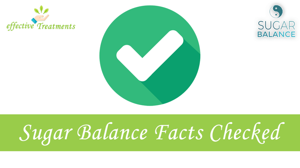 Sugar Balance facts checked