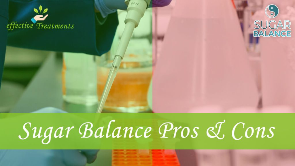 Sugar Balance pills pros and cons