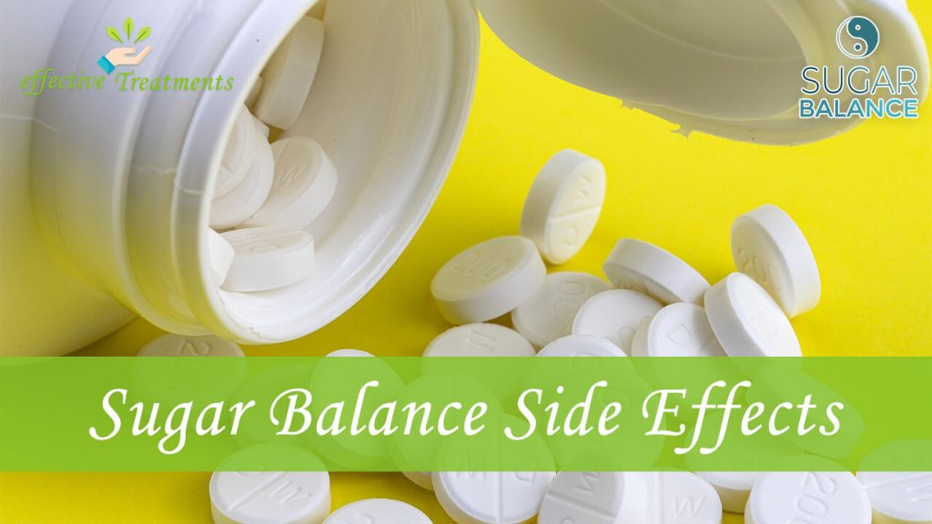 Sugar Balance side effects