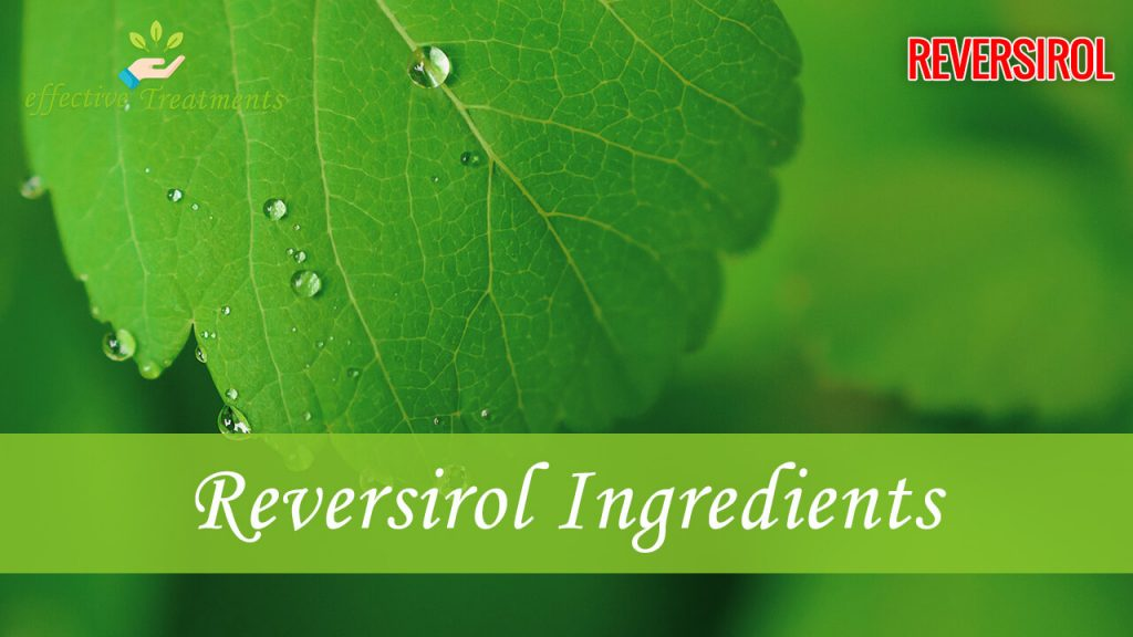 Reversirol ingredients