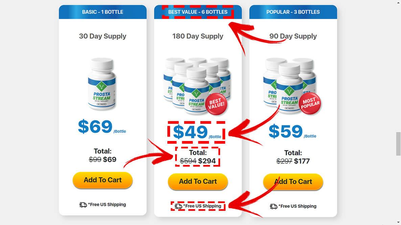how to buy prosta stream step2