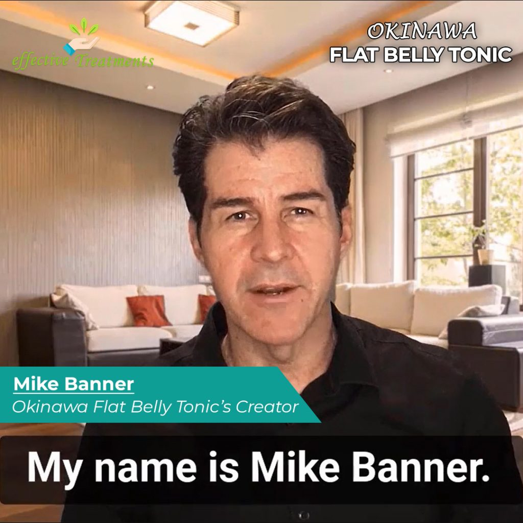 Mike Banner | Okinawa Flat Belly Tonic creator
