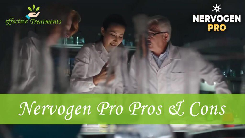 Nervogen Pro pros and cons