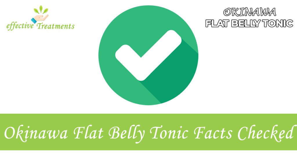 Okinawa Flat Belly Tonic facts