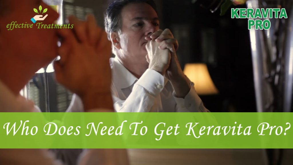 Who does need to get keravita pro supplement?