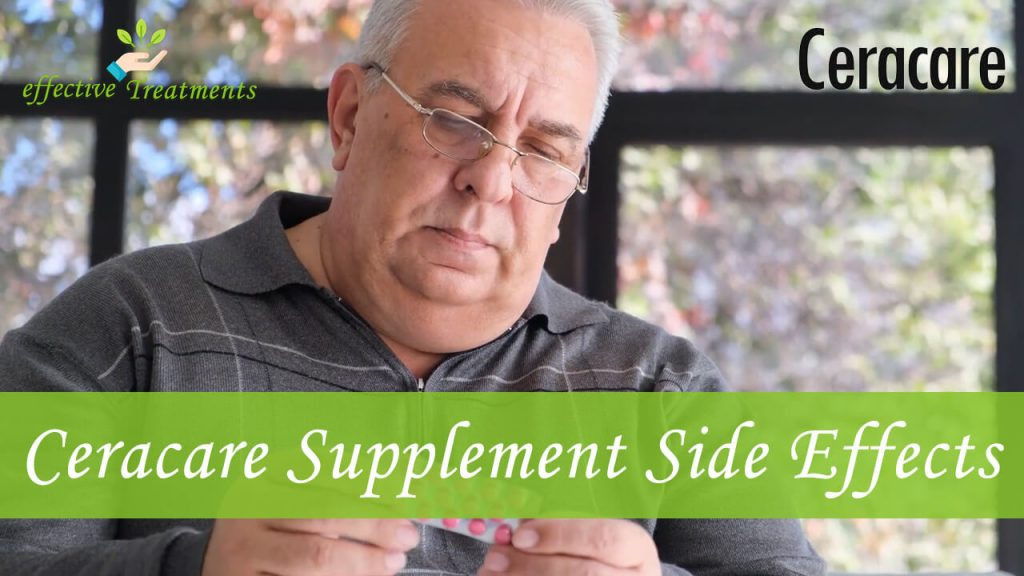 Ceracare supplement side effects