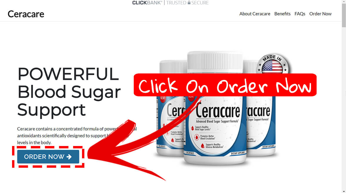 How to buy Ceracare supplement step1