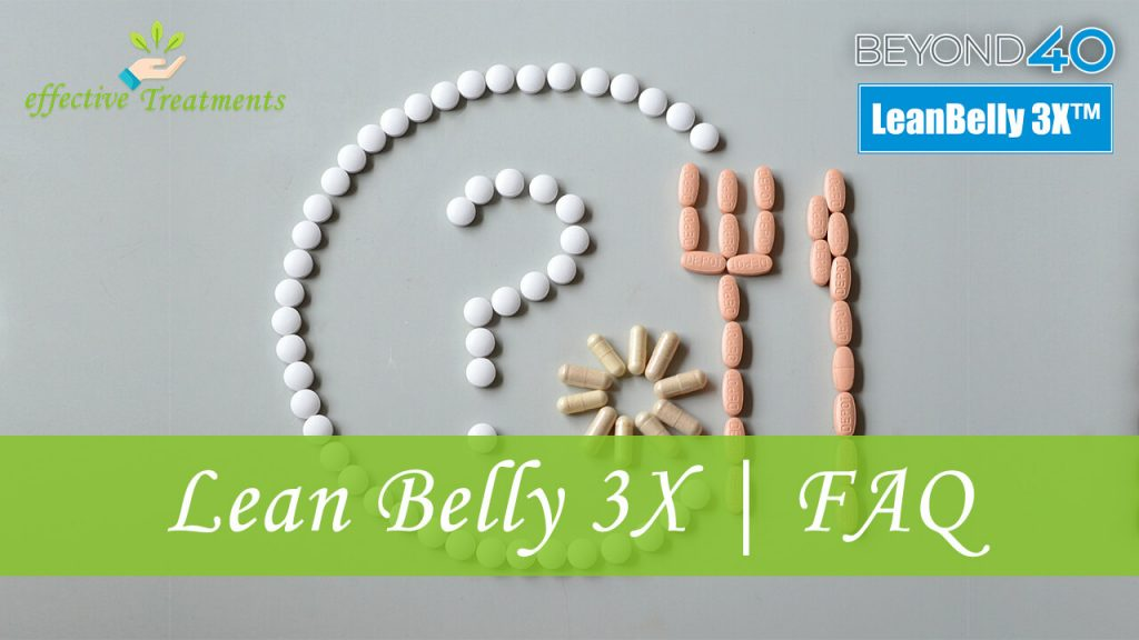 Lean belly 3x for losing weight faq