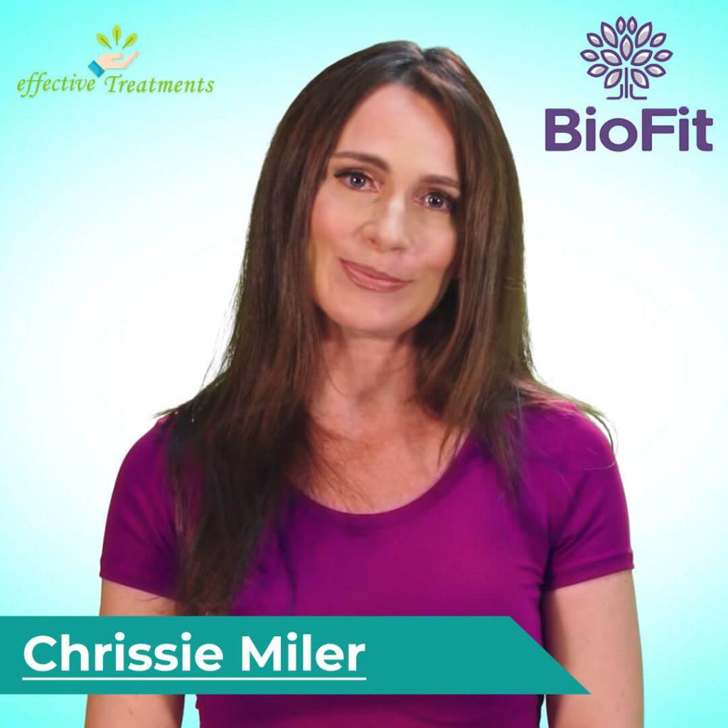 Chrissie Miller | BioFit diet pills creator