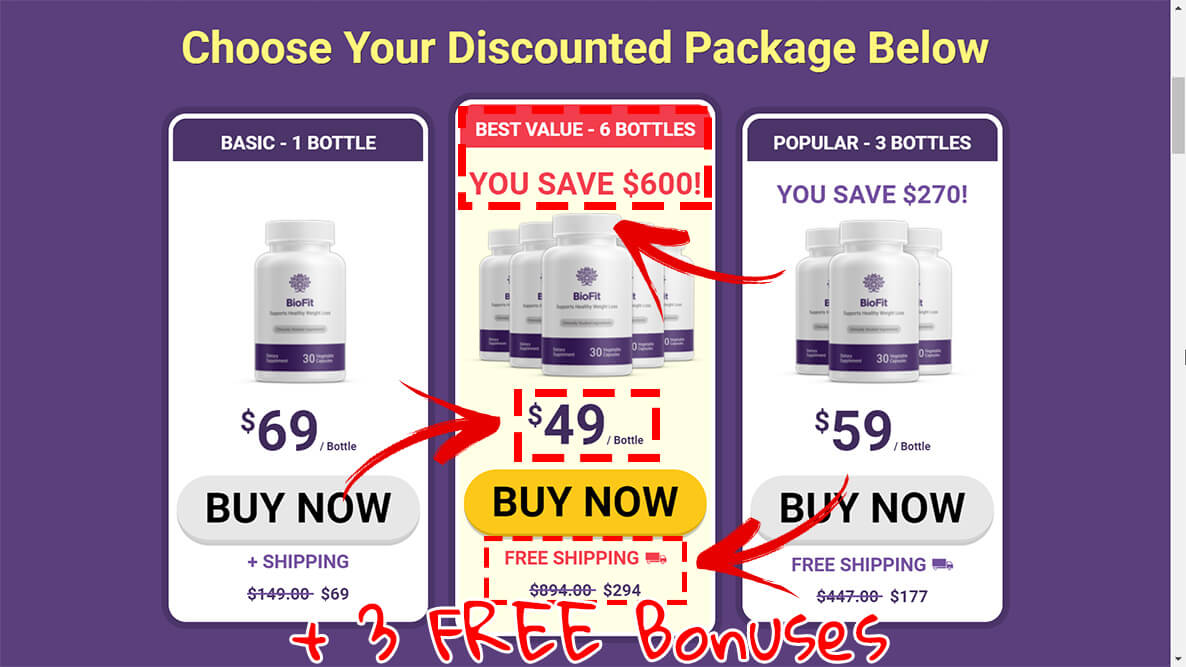 How to buy biofit weight loss pills step2