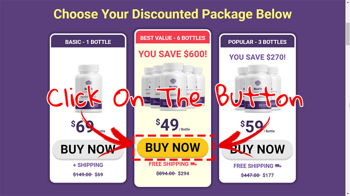 How to buy biofit weight loss pills step3