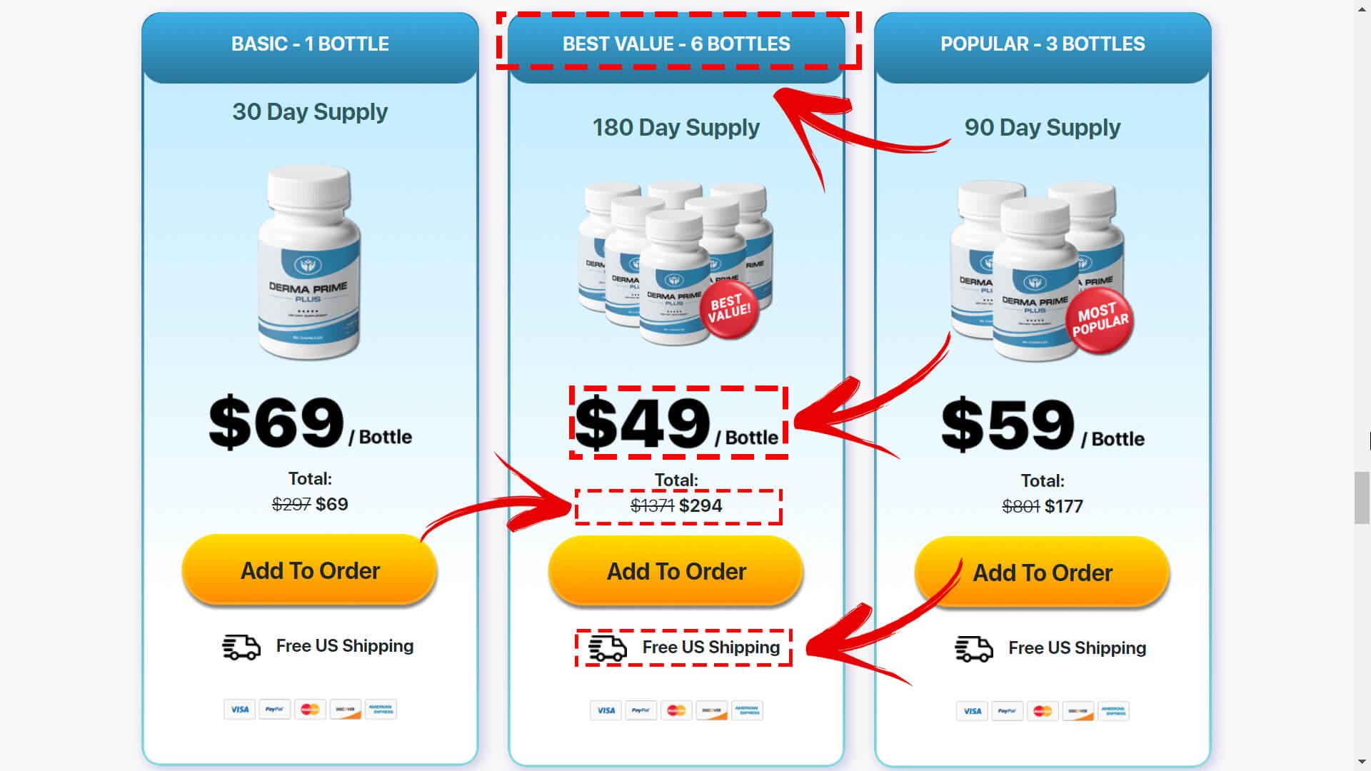 How to buy Derma Prime Plus | Step 2
