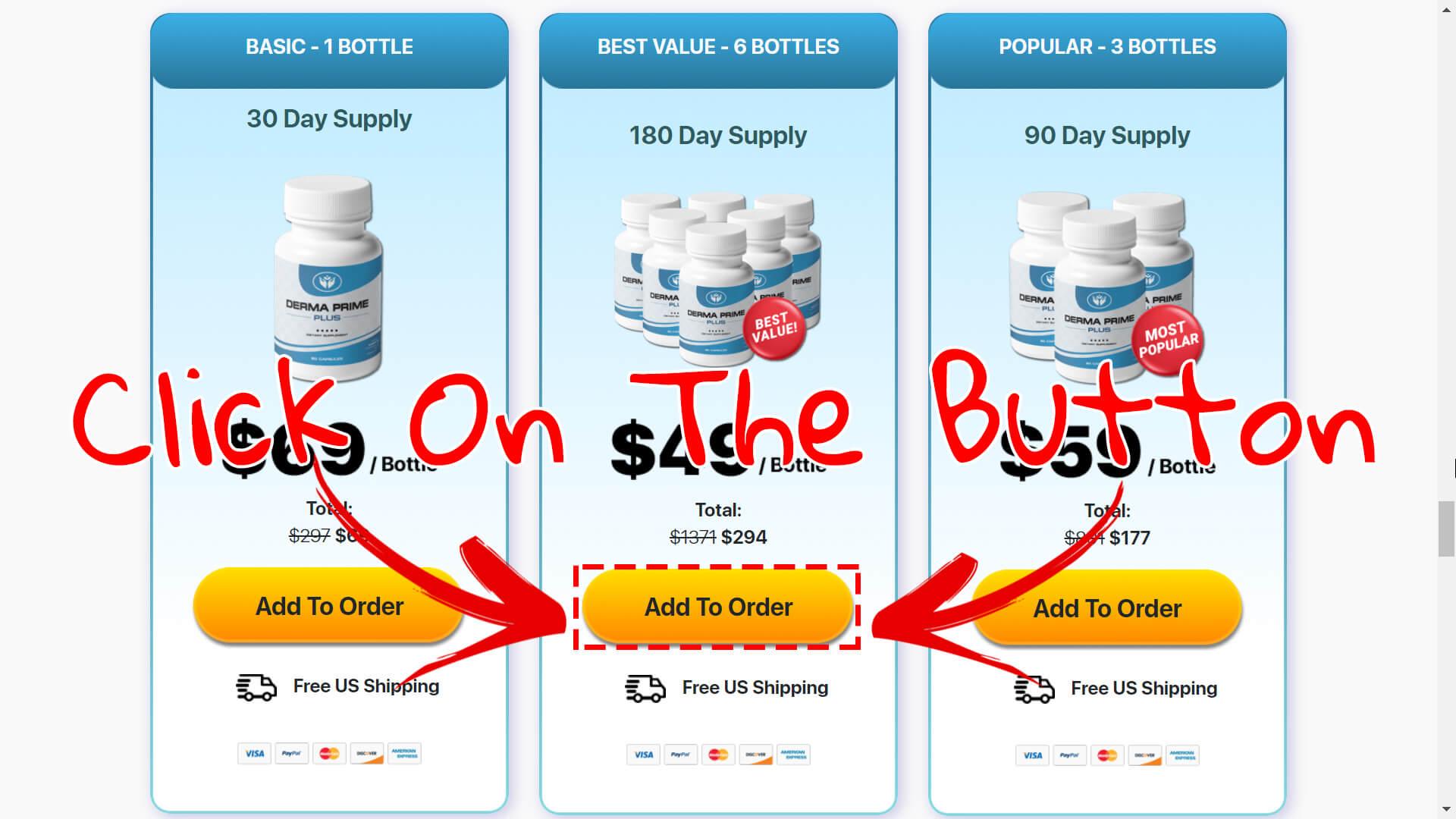 How to buy Derma Prime Plus | Step 3