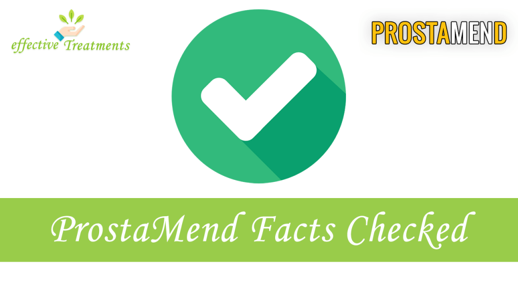 ProstaMend Pills | facts checked