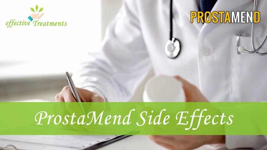 ProstaMend side effects
