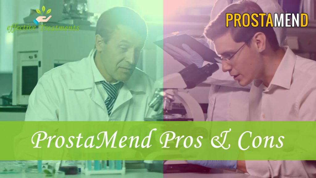 ProstaMend supplement pros and cons