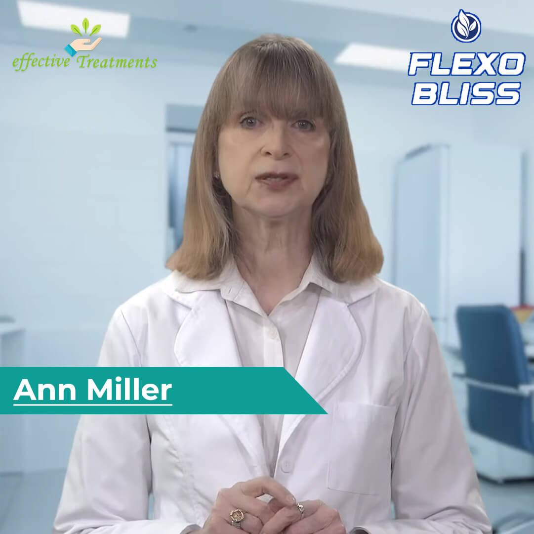 Ann Miller | Flexo Bliss pills creator