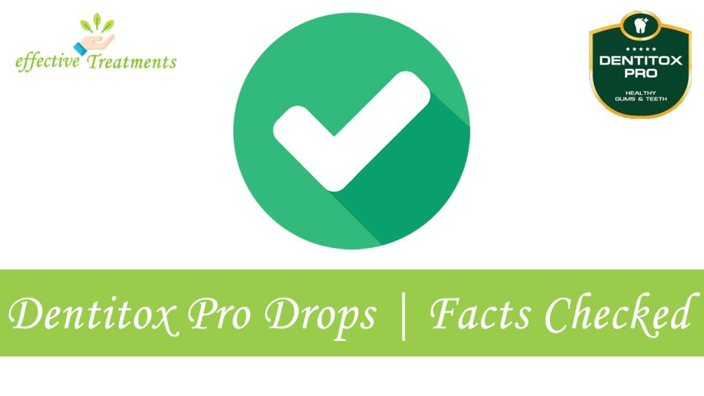 Dentitox Pro drops | facts checked