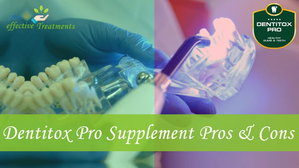 Dentitox Pro supplement pros and cons