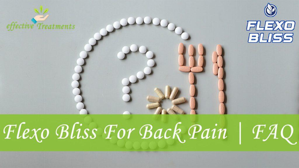 Flexo Bliss For Back Pain | FAQ