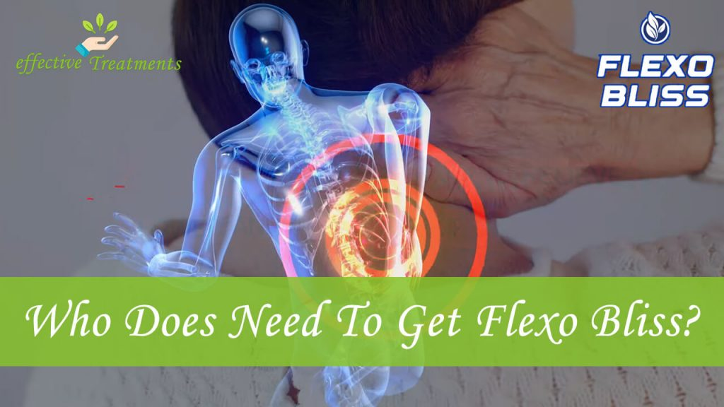 Who Does Need To Get Flexo Bliss For Back Pain?