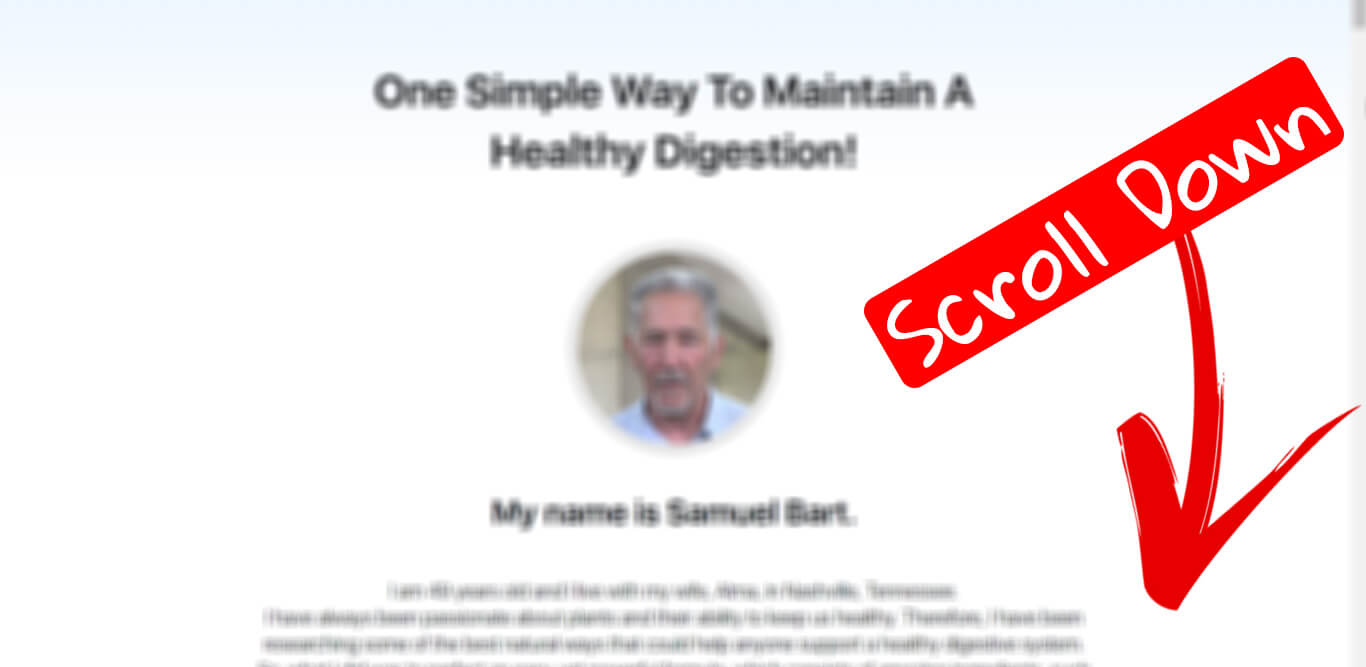 How to buy Synogut supplement step 1