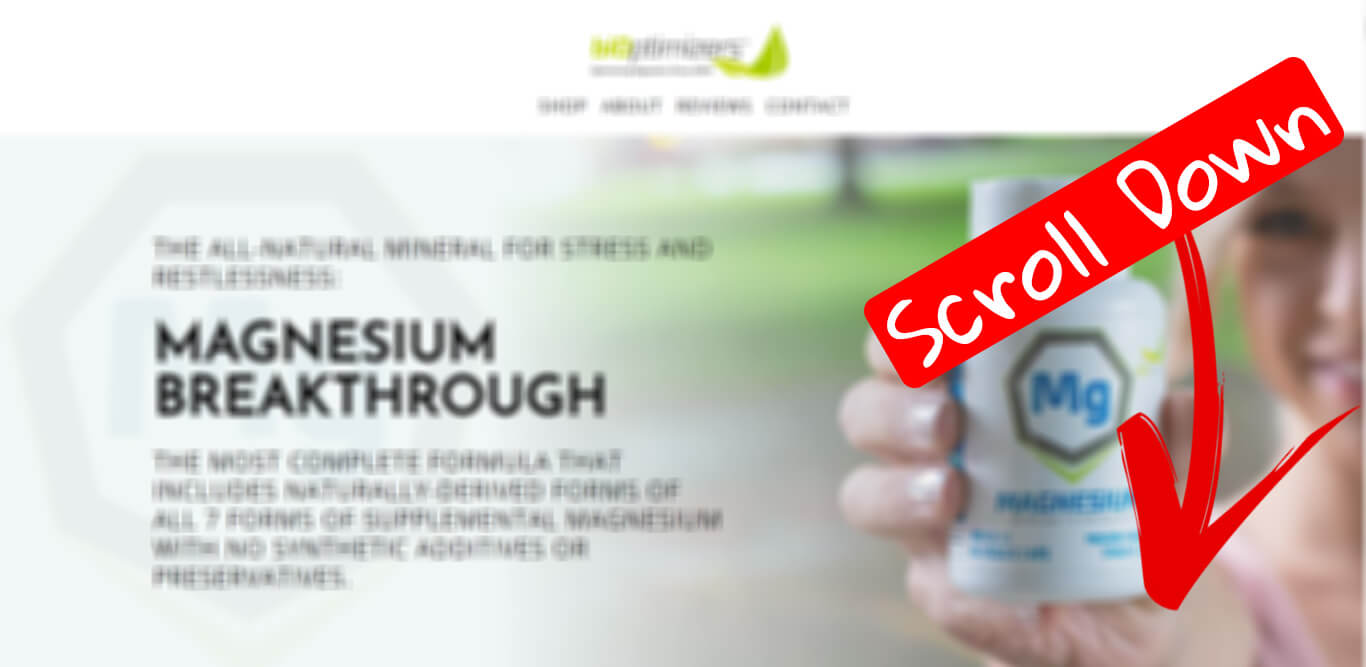 How to buy Magnesium Breakthrough with best discount step 1